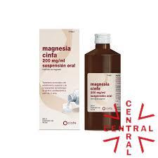 Magnesia Cinfa 200mg/ml suspensión oral 300g
