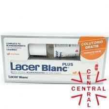 Lacer Blanc citrus pasta 125ml + colutorio 100ml
